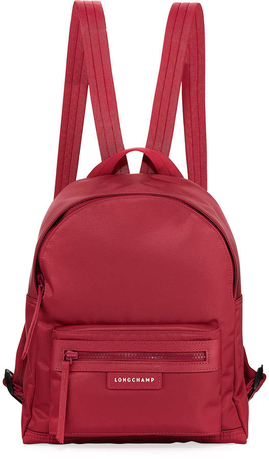 Longchamp Le Pliage Néo Small Backpack - DARK RED - STYLE