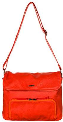Roxy Womens The Wedge J Cross-Body Bag Fiery Orange