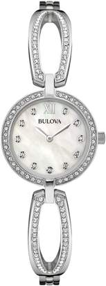 Bulova Mother-of-Pearl Dial Bangle Watch