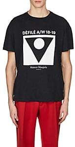 Maison Margiela Men's Cotton T-Shirt - Dark Gray