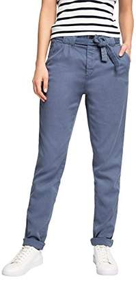 Esprit edc by Women's Chino Trousers - Blue