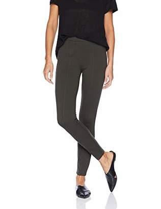 6214a90eafb58 Daily Ritual Women's Faux 5-Pocket Ponte Knit Legging