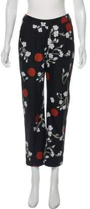 Isa Arfen Cropped High-Rise Pants