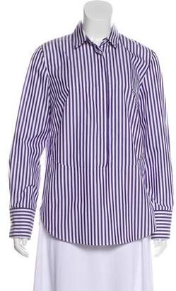 Akris Punto Long Sleeve Button Up Blouse