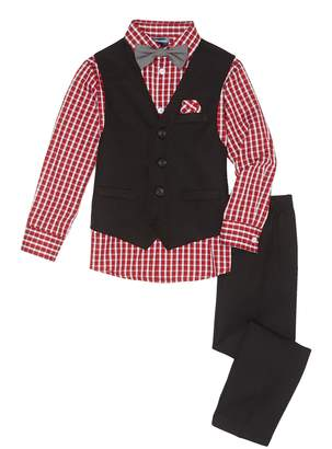 Nautica Check Shirt 4-Piece Suit (Toddler & Little Boys)