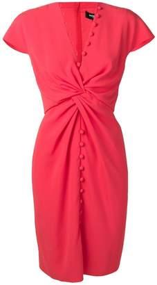 Paule Ka knot detail dress