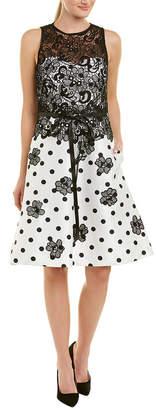 Theia A-Line Dress