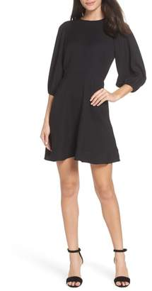 Chelsea28 Blouson Sleeve Fit & Flare Dress