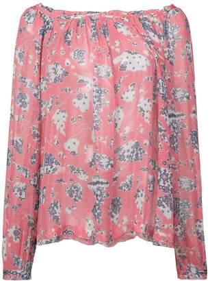 Raquel Allegra floral print blouse