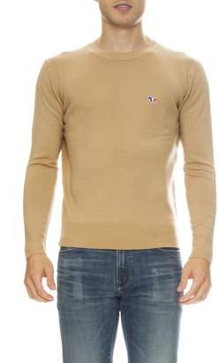 MAISON KITSUNÉ Virgin Wool Crew Neck Sweater