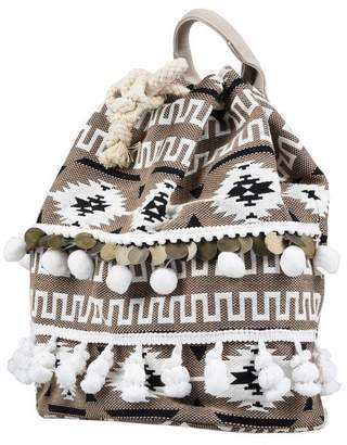 Drawstring Uk Beige Women Shopstyle Backpacks For pddw6q