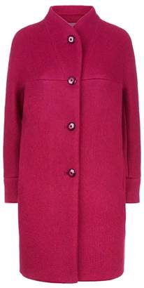 Fenn Wright Manson Polly Coat Petite Magenta