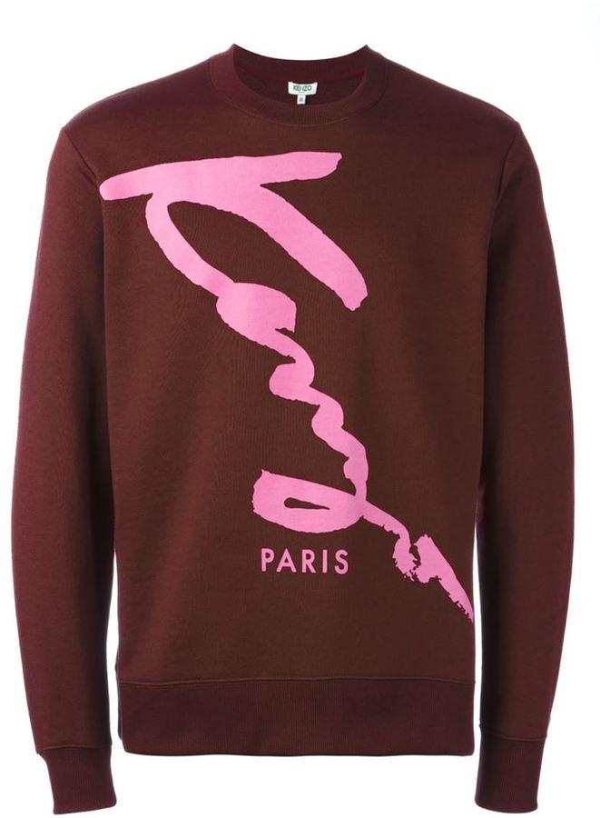 Kenzo signature print sweatshirt
