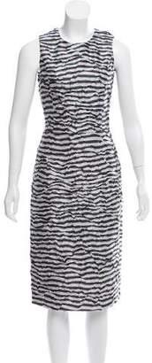 Michael Kors Printed Midi Dress w/ Tags