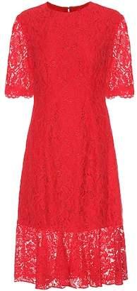 Carolina Herrera Longuette lace dress