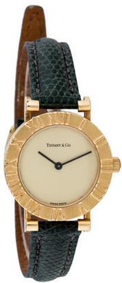 Tiffany & Co. Atlas Watch $1,495 thestylecure.com