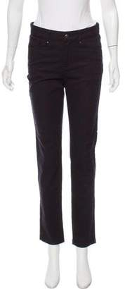 Le Mont St Michel Mid-Rise Straight-Leg Jeans