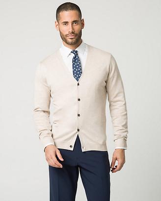 Le Château Rayon Blend Button-Front Cardigan