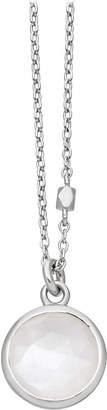 Astley Clarke Stilla sterling silver moonstone pendant necklace