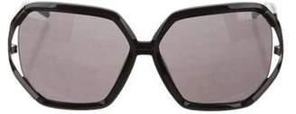 Gianfranco Ferre Hexagon Tinted Sunglasses