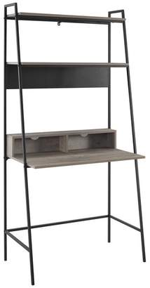 Walker Edison 36 Urban Industrial Metal and Wood Ladder Desk