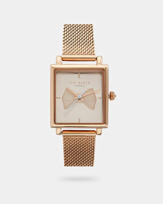 Ted Baker GIAVANA Bow square dial watch