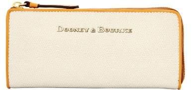 Dooney & Bourke Claremont Zip Clutch Wallet - BONE - STYLE