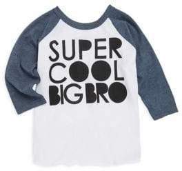Chaser Toddler's, Little Boy's& Boy's Super Cool Big Bro Top