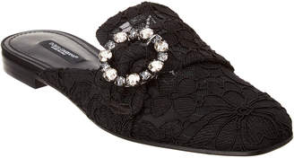 Dolce & Gabbana Embellished Lace Slipper