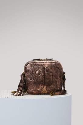 Jerome Dreyfuss Pascal iridescent leather shoulder bag