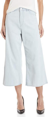 Cheap Monday Abstract Wide Leg Cropped Jeans