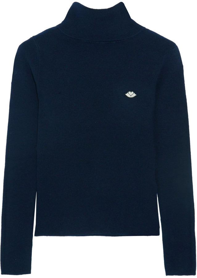 See By ChloeSee by Chloé Stretch-knit turtleneck sweater