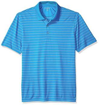 Amazon Essentials Men's Regular-Fit Quick-Dry Stripe Golf Polo Shirt
