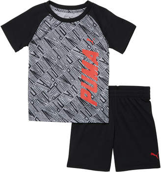 2 Piece Infant Boy's T-Shirt & Shorts