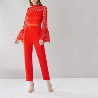 Coast Emorie Crochet Lace Jumpsuit