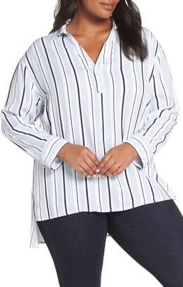 Sejour Stripe Tunic Blouse