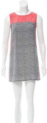 Joie Sleeveless Printed Dress