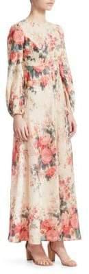 Zimmermann Laelia Floral Maxi Dress