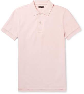 Tom Ford Cotton-Piqué Polo Shirt