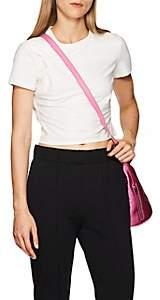 Alexander Wang Women's Twisted Cotton Crop T-Shirt - White
