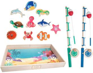 Fao Schwarz Wood Fishing Set