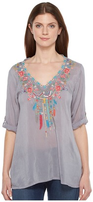 Johnny Was - Butterfly Dream Blouse Women's Blouse $210 thestylecure.com