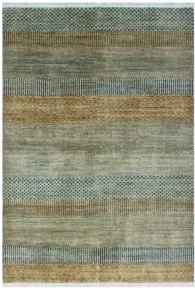 Walton Noori Rug Fine Grass Foluke Hand-Knotted Wool Rug