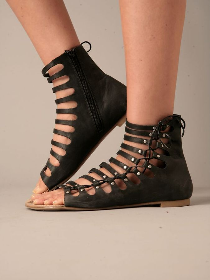 Delilah Laceup Sandal