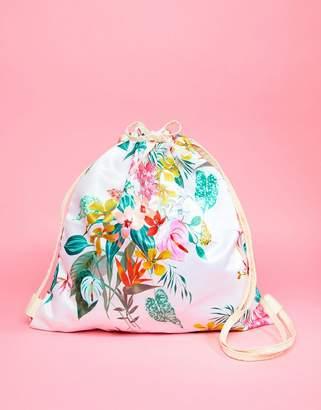 ban.do BAN DO Glitter Paradiso Draw String Travel Bag