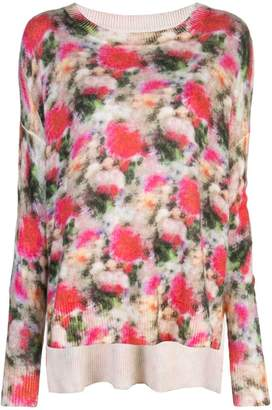 ADAM by Adam Lippes printed knitted top