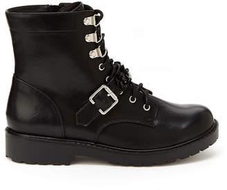UNIONBAY Womens Lila 2 Combat Boots Zip