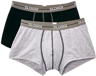 Sloggi Start Hipster Boxers,Set of 2,(Manufacturer Size: 38)