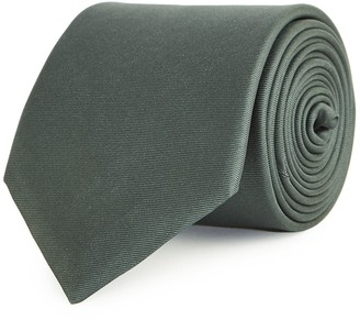 Reiss AIDEN SILK TIE Deep Green