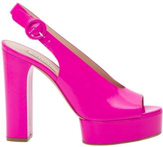 Casadei Singback Sandal With Open Toe